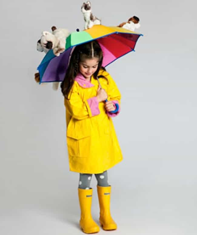 Raining Cats and Dogs is listed (or ranked) 1 on the list 30 Punny Halloween Costumes