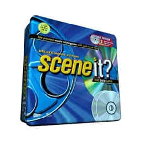 Scene It? Movie Deluxe Edition is listed (or ranked) 1 on the list The Best Trivia Board Games