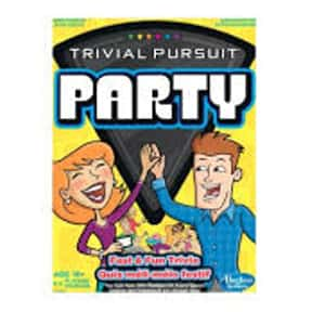 Trivial Pursuit Party is listed (or ranked) 10 on the list The Best Board Games for Parties