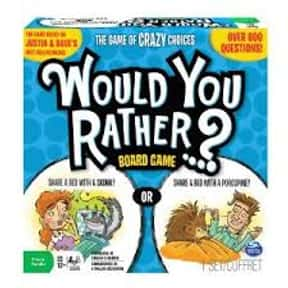 Would You Rather is listed (or ranked) 21 on the list The Best Board Games for Parties