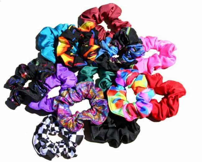 Scrunchies is listed (or ranked) 2 on the list Embarrassing '90s Clothes You Used to Rock