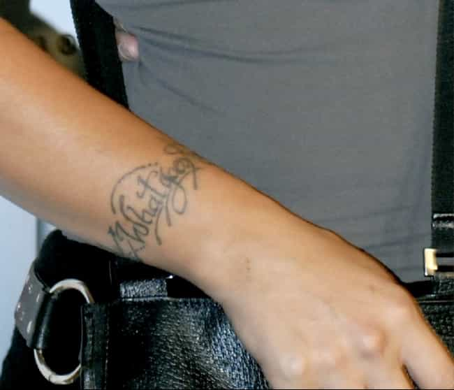 What Goes Around Comes A... is listed (or ranked) 1 on the list A Gallery of Pink's Tattoos