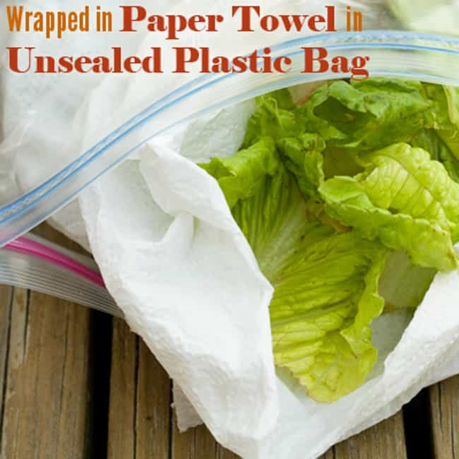 Store Lettuce with Paper Towel is listed (or ranked) 1 on the list 29 Awesome Kitchen Hacks and Cooking Tips