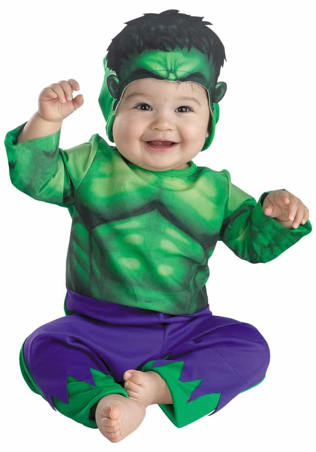 You Wouldn't Like Me When I'm ... is listed (or ranked) 4 on the list The Cutest Superhero Costumes for Kids