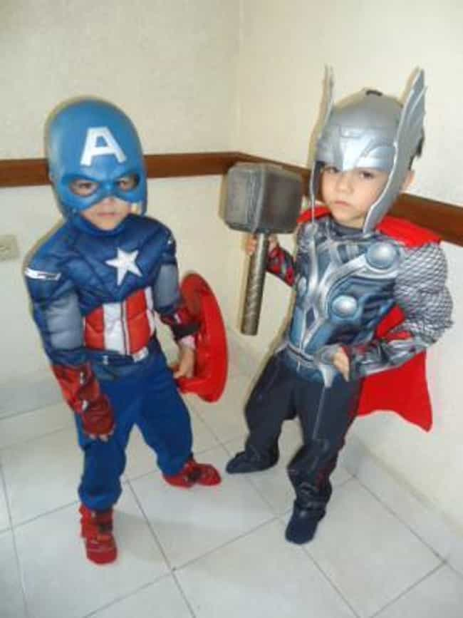 Team Up! is listed (or ranked) 2 on the list The Cutest Superhero Costumes for Kids