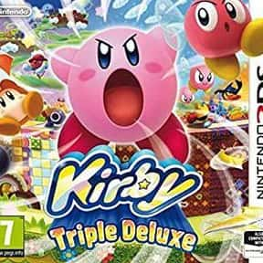 Kirby: Triple Deluxe is listed (or ranked) 16 on the list The Best Nintendo 3DS Games of All Time, Ranked by Fans