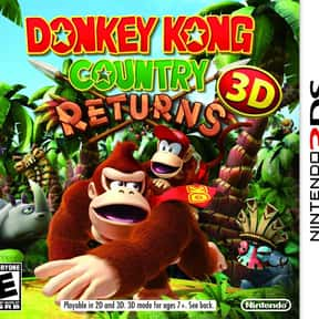 Donkey Kong Country Returns 3D is listed (or ranked) 13 on the list The Best Nintendo 3DS Games of All Time, Ranked by Fans