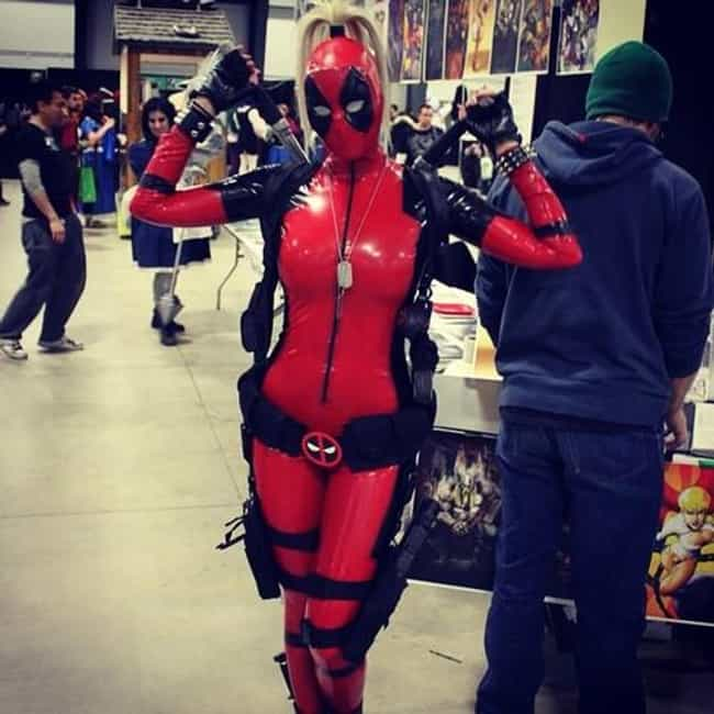 Lady Deadpool is listed (or ranked) 4 on the list The Best Cosplayers from NYCC 2014