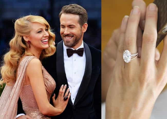 Blake Lively is listed (or ranked) 4 on the list The Most Fabulous Celebrity Engagement Rings
