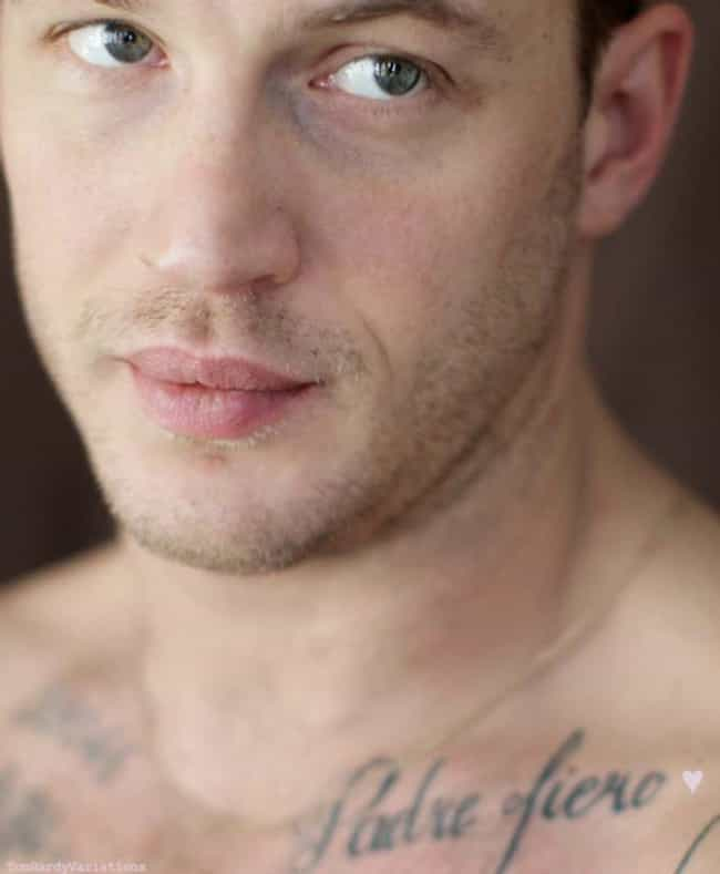 Padre Fiero is listed (or ranked) 1 on the list 18 of Tom Hardy's Hottest Tattoos