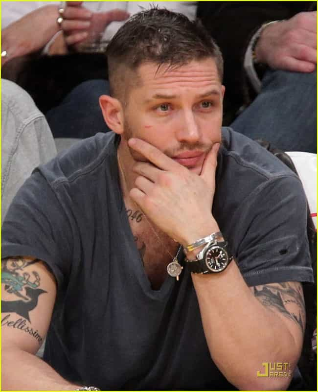 London Skyline is listed (or ranked) 3 on the list 18 of Tom Hardy's Hottest Tattoos