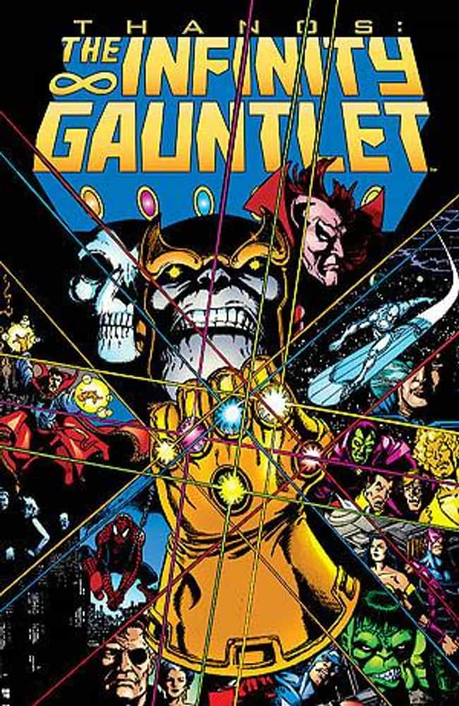 The Infinity Gauntlet (1... is listed (or ranked) 1 on the list The Best Marvel Crossover Events & Storylines Ever
