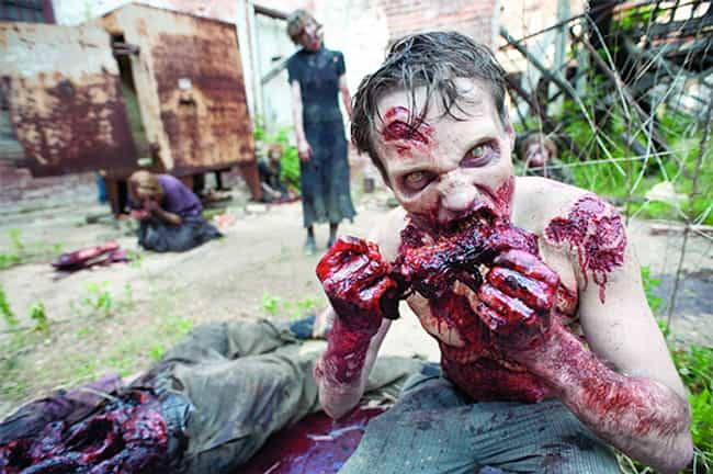 The Flesh the Walkers Eat is H... is listed (or ranked) 7 on the list 20 Things You Didn't Know About The Walking Dead