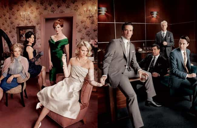 It Costs Nearly $2.8 Mil... is listed (or ranked) 3 on the list 25 Things You Didn't Know About Mad Men