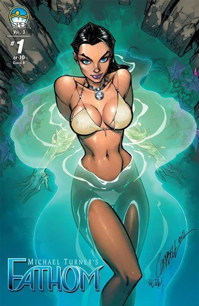 Fathom is listed (or ranked) 1 on the list The Sexiest Babes from Indie Comics