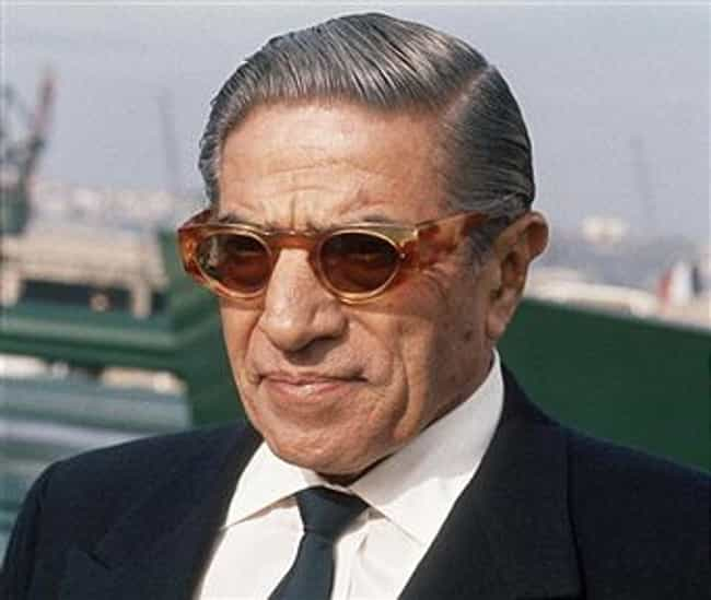 Onassis Family is listed (or ranked) 8 on the list The 13 Main Families of the Illuminati