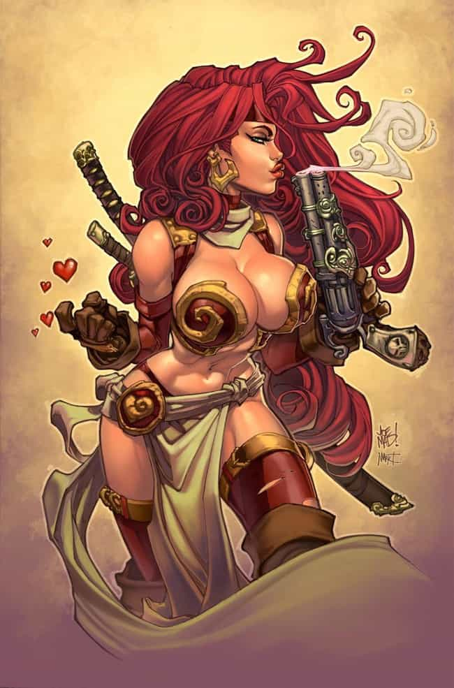 Red Monika is listed (or ranked) 3 on the list The Sexiest Babes from Indie Comics