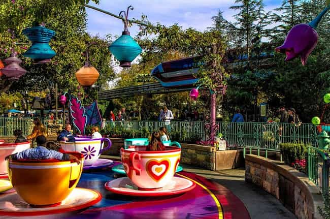 A Day at Disneyland! is listed (or ranked) 4 on the list Amazing Things You Can Only Buy In California