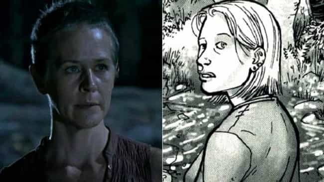 Carol Is Young and Feisty is listed (or ranked) 3 on the list The Biggest Changes from The Walking Dead Comic to TV Show