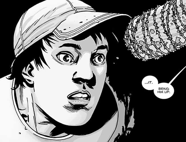 Glenn Becomes a Farm-Hand is listed (or ranked) 4 on the list The Biggest Changes from The Walking Dead Comic to TV Show