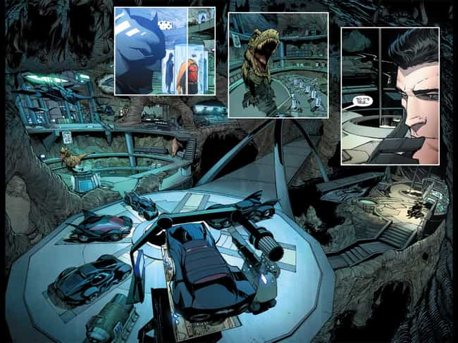 The Court of Owls is listed (or ranked) 1 on the list 25 Different Versions of Batman's Batcave, Ranked