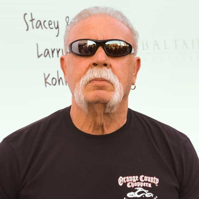 Paul Teutul, Sr. is listed (or ranked) 4 on the list The Most Impressive TV Personality Mustaches