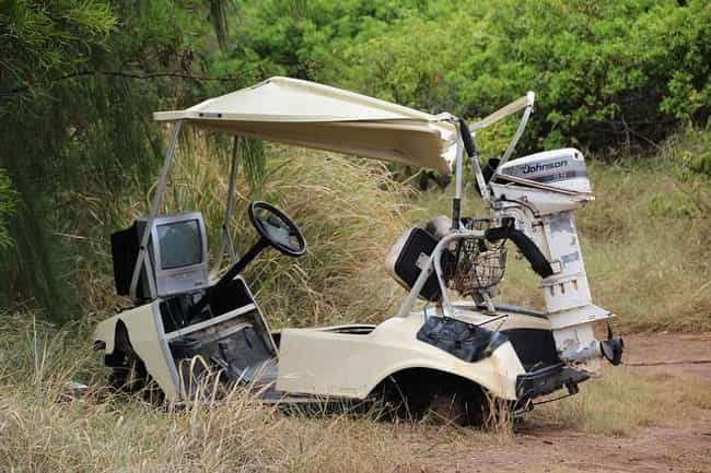 Nudist Resort Golf Cart Stolen... is listed (or ranked) 5 on the list The Most Florida Things That Have Ever Happened