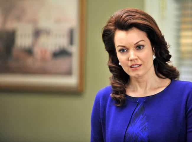 Bellamy Young is Smart. Like, ... is listed (or ranked) 2 on the list 27 Scandal Facts You Never Knew
