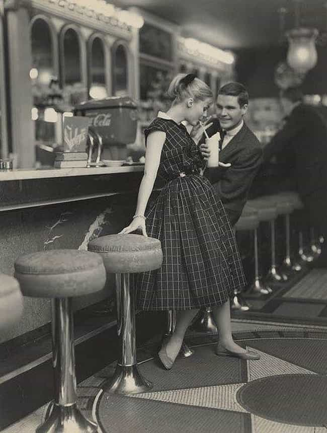 Couple On A Date, 1950s ... is listed (or ranked) 3 on the list 100 Incredible Vintage Photos