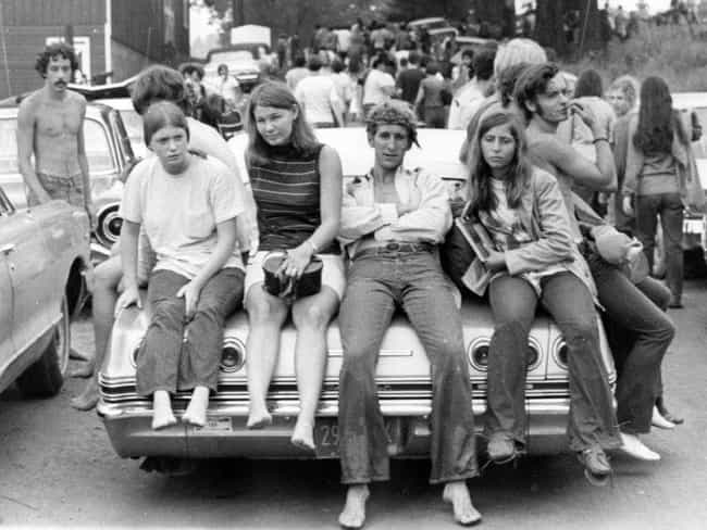 On The Way To Woodstock,... is listed (or ranked) 4 on the list 100 Incredible Vintage Photos