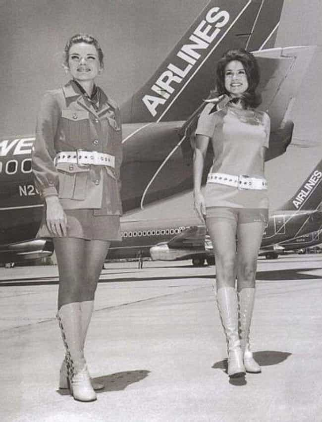 Flight Attendants, 1960s... is listed (or ranked) 2 on the list 100 Incredible Vintage Photos