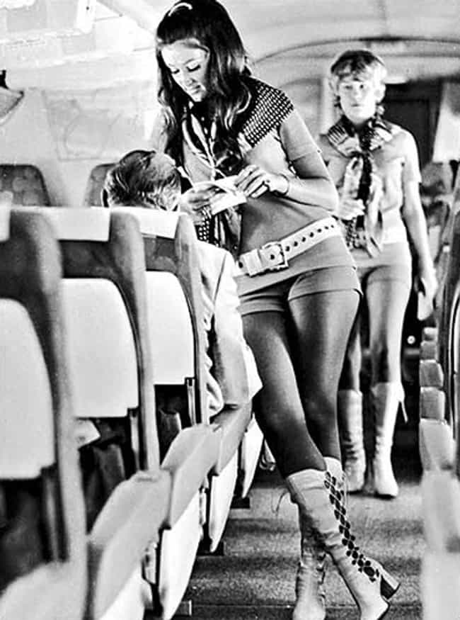 Flight Attendant in the ... is listed (or ranked) 2 on the list 100 Incredible Vintage Photos