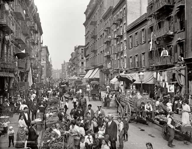 Little Italy In New York... is listed (or ranked) 6 on the list 100 Incredible Vintage Photos