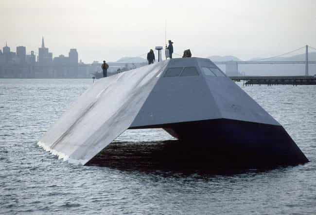 Sea Shadow (IX-529) is listed (or ranked) 1 on the list Secret Government Black Projects That Might Actually Exist