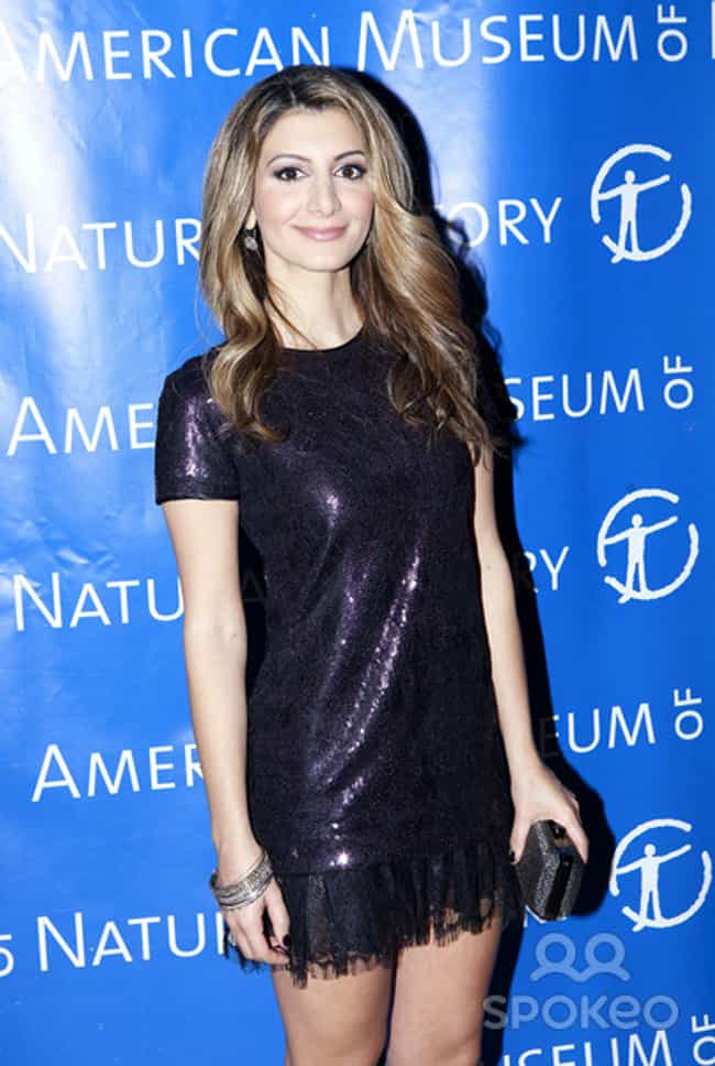 Nasim Pedrad in a short shiny ... is listed (or ranked) 4 on the list The Most Stunning Nasim Pedrad Photos