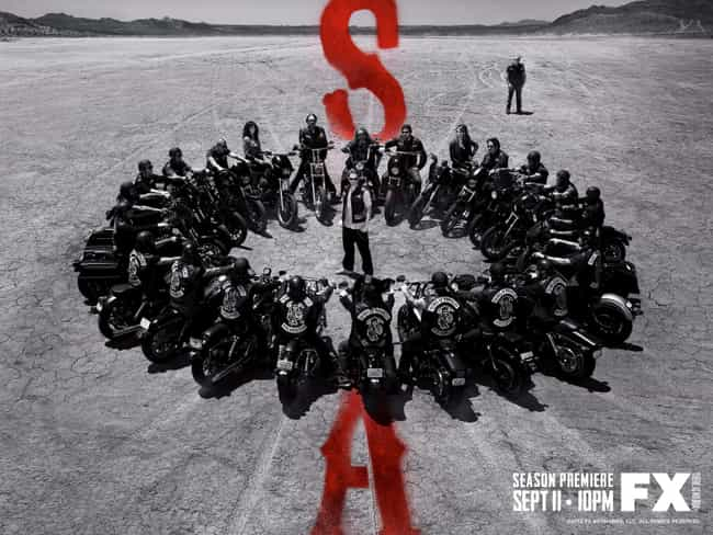 Sons of Anarchy Became FX'... is listed (or ranked) 2 on the list 25 Surprising Facts You Didn't Know About Sons of Anarchy