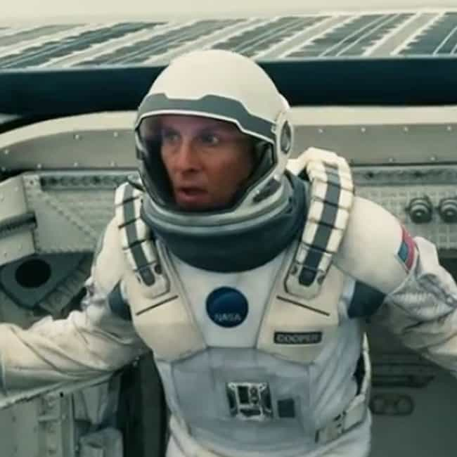 We Used to Look Up at th... is listed (or ranked) 4 on the list Interstellar Movie Quotes