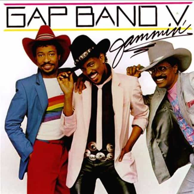 Gap Band V - Jammin' is listed (or ranked) 2 on the list The Best Gap Band Albums of All Time