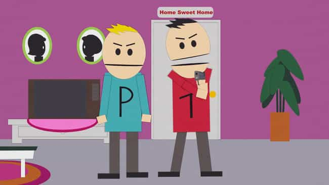 The Terrence and Phillip chara... is listed (or ranked) 4 on the list 30 Facts You Didn't Know About South Park