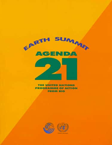 Agenda 21 is listed (or ranked) 1 on the list Scary Conspiracy Theories About Population Control