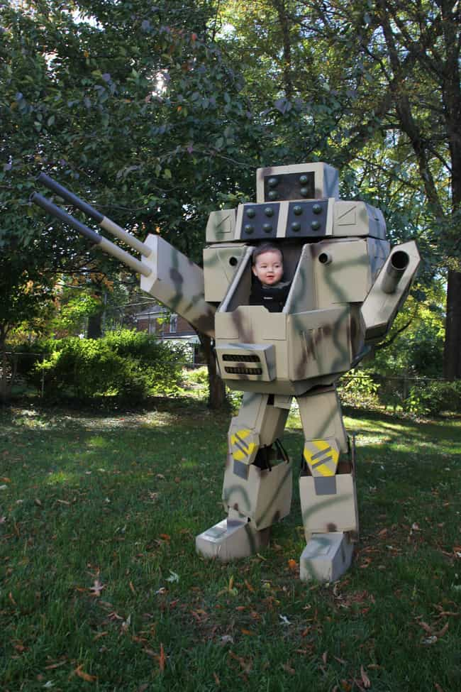 Cutest Mech Pilot Ever is listed (or ranked) 3 on the list The 50+ Greatest Reddit Halloween Costumes of All Time
