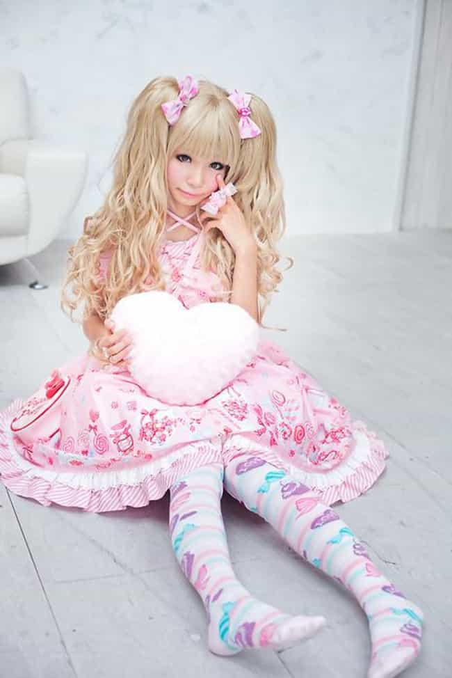 Lolita is listed (or ranked) 1 on the list The Craziest Japanese Fashion Trends