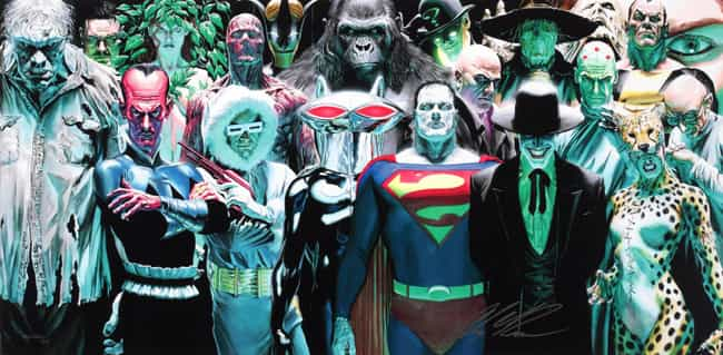 Justice League is listed (or ranked) 4 on the list The Superheroes With the Best Rogues Galleries