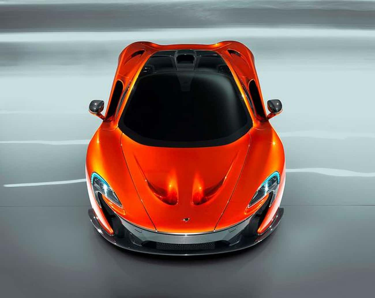 Mclaren P1 is listed (or ranked) 1 on the list The Coolest Cars In The World