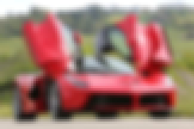 Ferrari Laferrari is listed (or ranked) 2 on the list The Coolest Cars with Scissor Doors