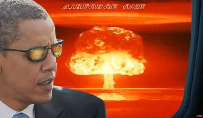 He's Plotting to Nuke the Enti... is listed (or ranked) 4 on the list The Most Outlandish Barack Obama Conspiracy Theories