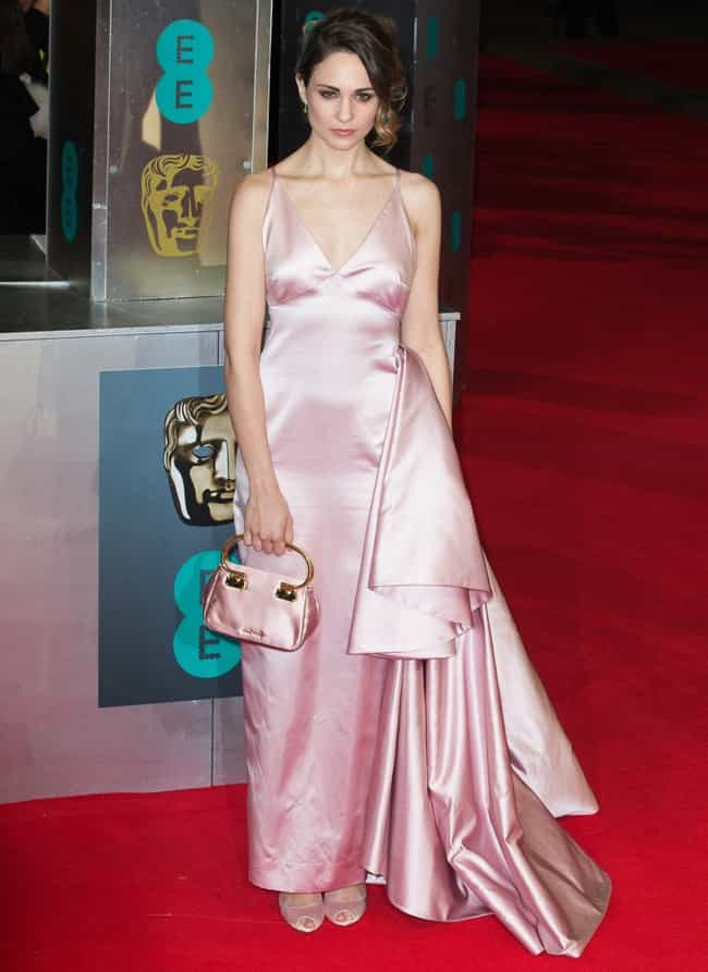 Tuppence Middleton in a satin ... is listed (or ranked) 2 on the list The Hottest Tuppence Middleton Photos