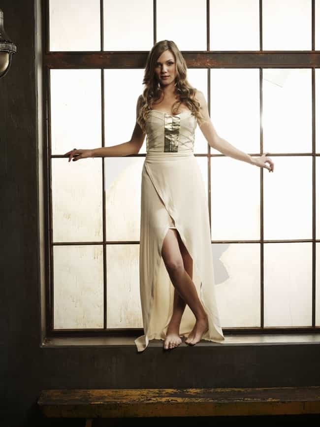 Tracy Spiridakos in a gold det... is listed (or ranked) 4 on the list The Most Stunning Photos of Tracy Spiridakos