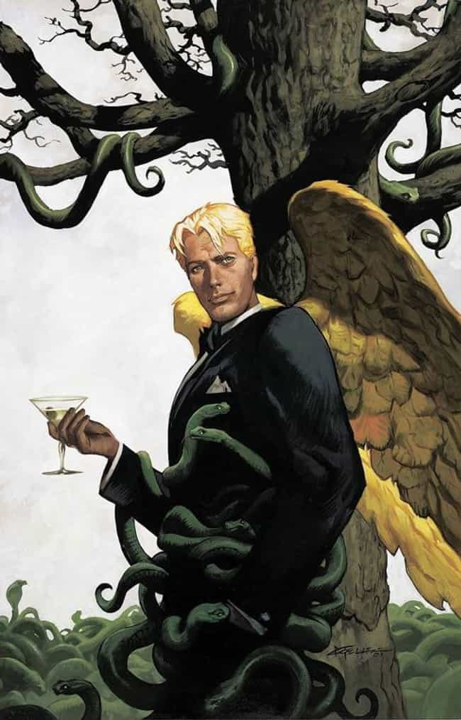 Lucifer Morningstar is listed (or ranked) 2 on the list The Most Powerful Characters In DC Comics