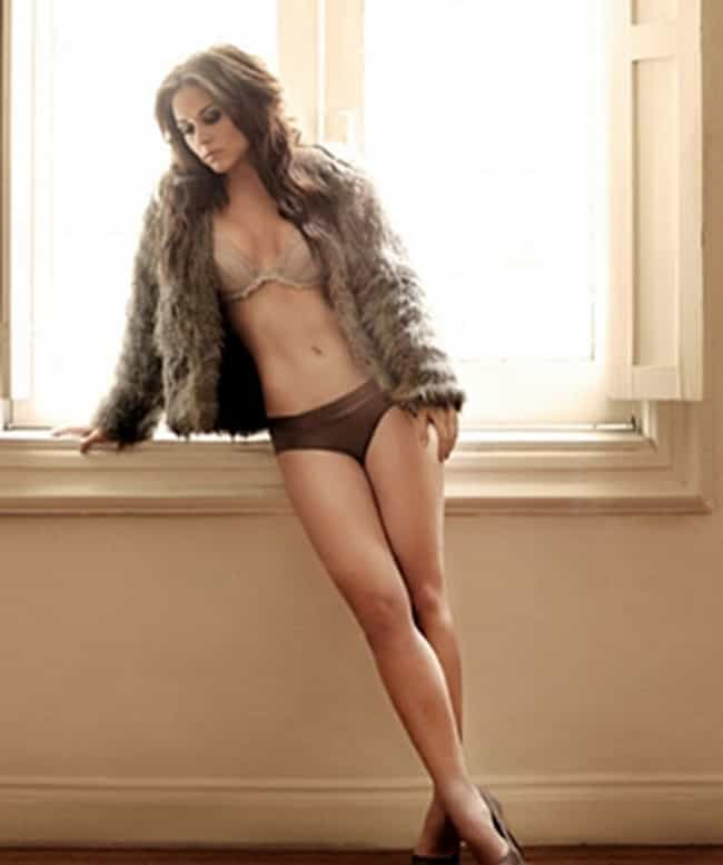 Zuria Vega in lingerie and fur... is listed (or ranked) 3 on the list The Hottest Zuria Vega Photos